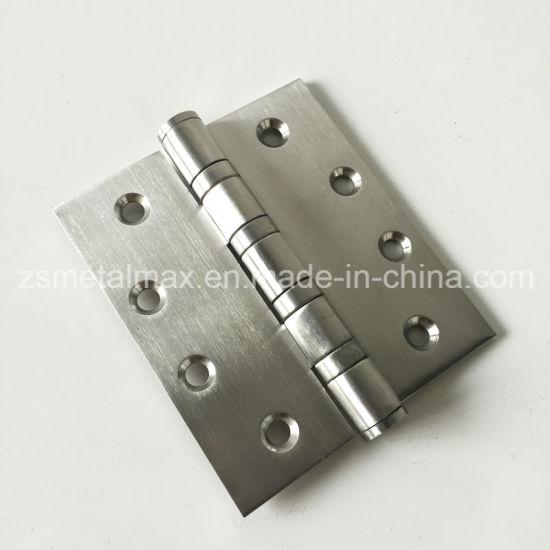 China Stainless Steel 4 Inch 4 Ball Bearing Wooden Door Hinge ...