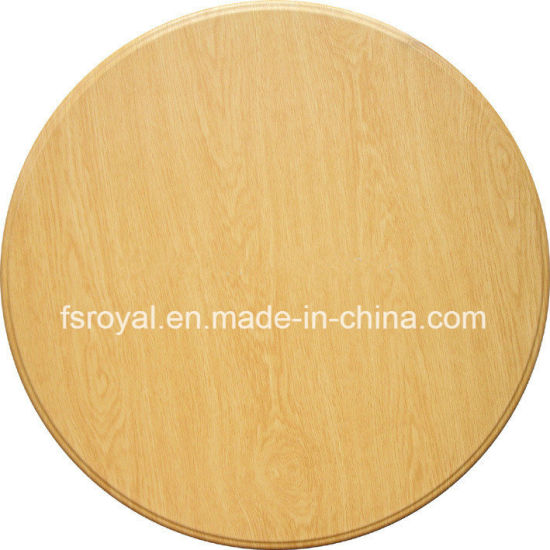 China Durable Wood Pressed Outdoor Table Top For Restaurant Table