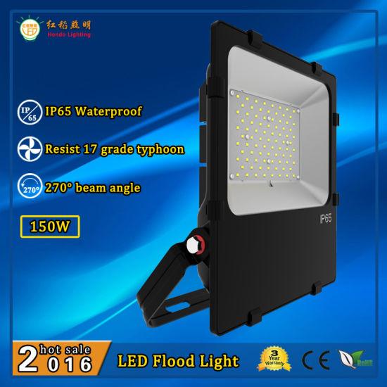 High Power 150W 110lm/W Durable IP65 Waterproof Flood LED Light Retrofit Kit