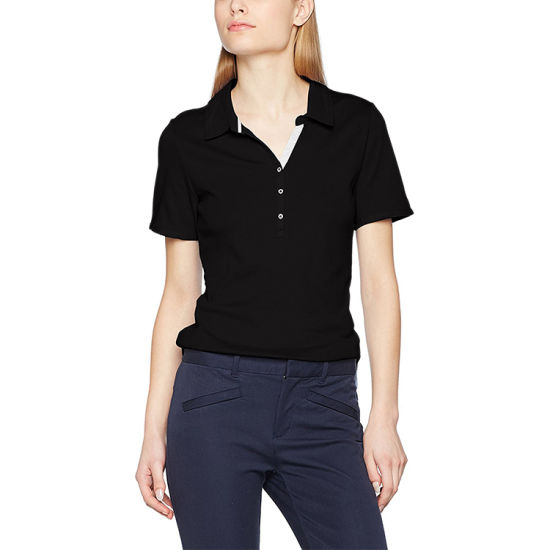 8cc2554a058 100% Cotton Polo Shirts Cheap Wholesale Custom Women Plain Polo Shirt