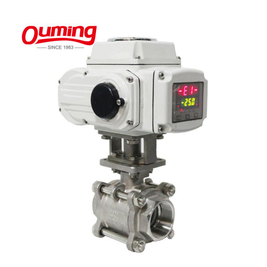 High Quality Gas or Water Automatic Pneumatic Flow Pressure Electrical Control Valve Price Wholesale pictures & photos