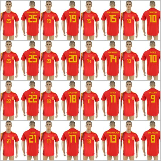 f33c55cef China 2018 Fifa World Cup Russia Football Spain National Soccer ...