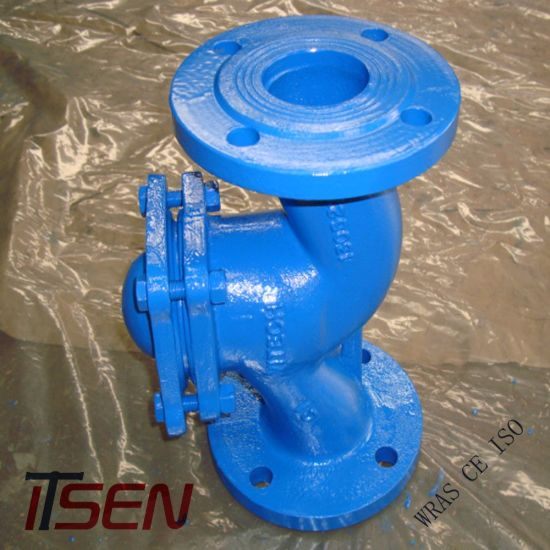 DIN Cast Iron / Ductile Iron / Gg25 / Ggg40 / Ggg50 Flanged Lift Type Check  Valve