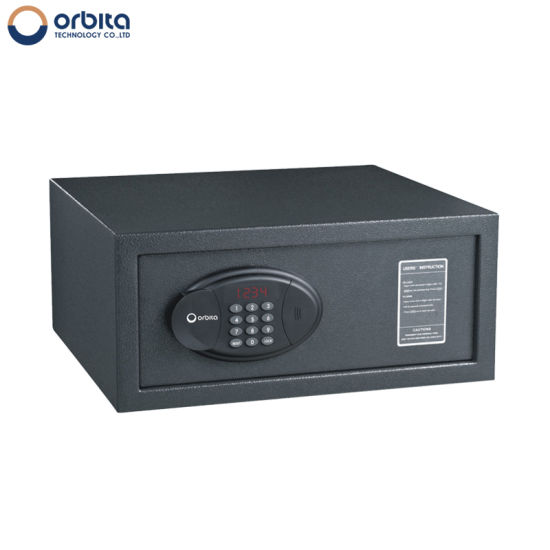 High Security Smart Intelligent Metal Cash Safe Box Digital Hotel  Electrical Safety Box