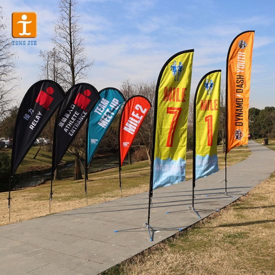 Feather Flags Flagpoles Only - Suitable For Indoor Outdoor Promotions