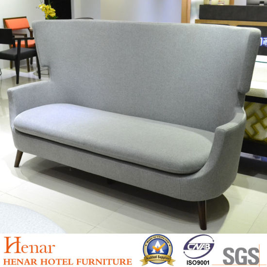 Commercial Hotel Lobby Furniture Booth Sofa