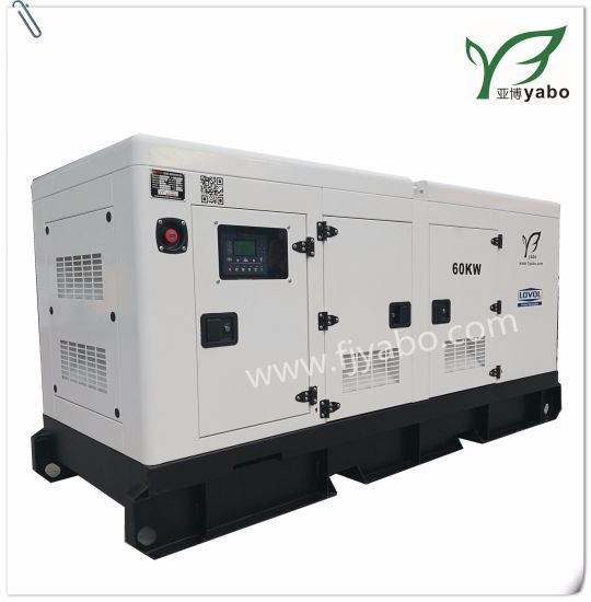 Electric Portable Power Generator Lovol Silent Canopy sel on