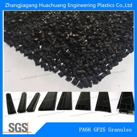 Polyamide PA66 GF25 Plastic Granules for Insulation Bars