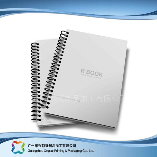 china factory directly notebook with spine label pocket xc 6 002