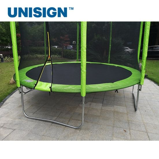 Easy to Assemble 6FT 8FT 10FT 12FT Outdoor Trampoline for Kids, Teens and Adults