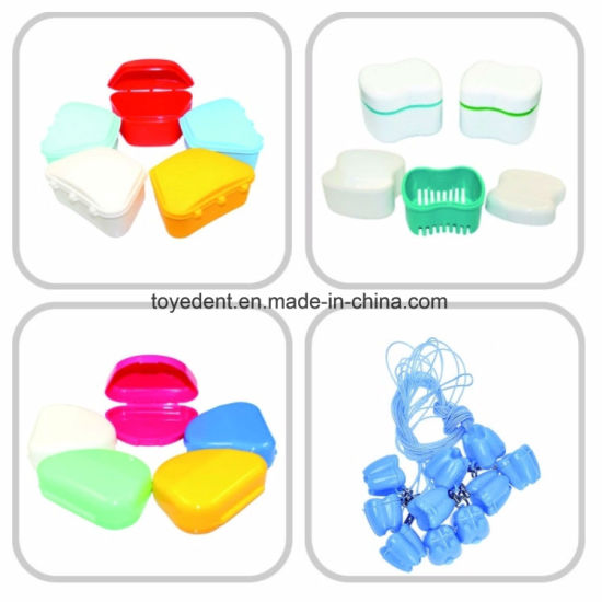 Dental Retainer Case, Plastic Denture Box, Denture Storage Box pictures & photos