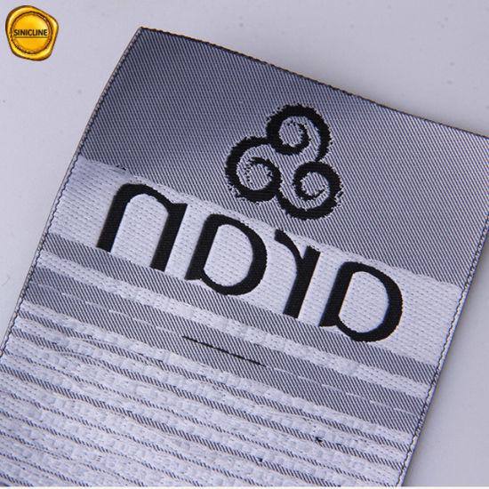 Sinicline Custom Sadin Woven Label Care Label for Garment