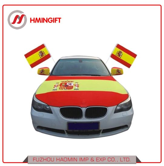 World Cup Football Fans Auto Hood Cover Flag Mirror Cover Car Flags Could Be Customized pictures & photos