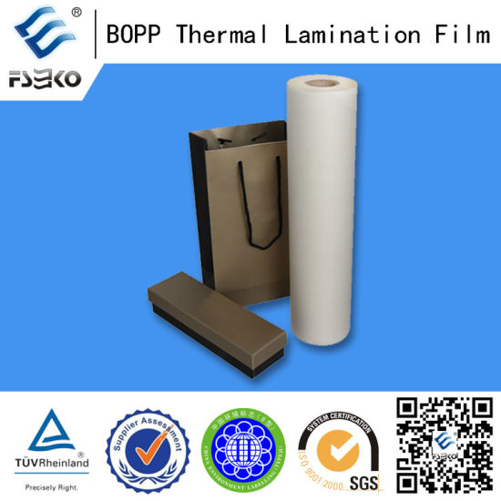 BOPP+EVA Thermal Laminating Matte Film Glossy pictures & photos