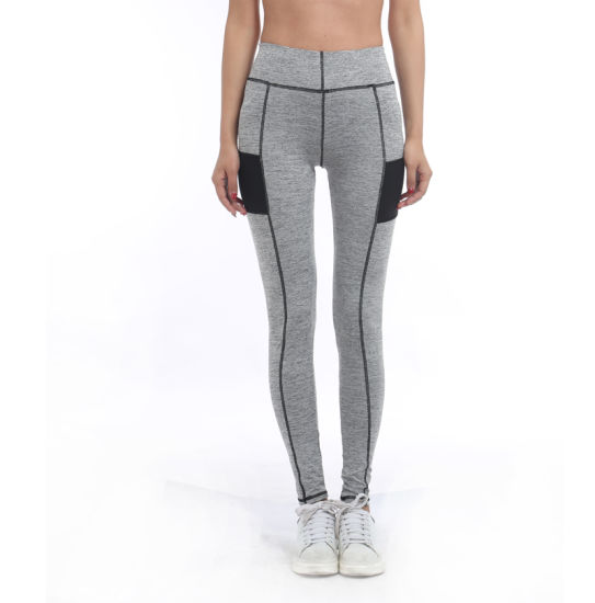 Ladies High Waist Gym Pants for Fitness Wear