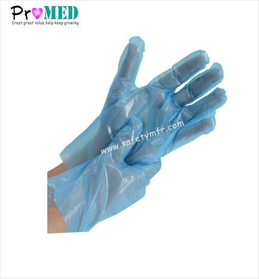 Disposable HDPE LDPE PE Plastic Gloves