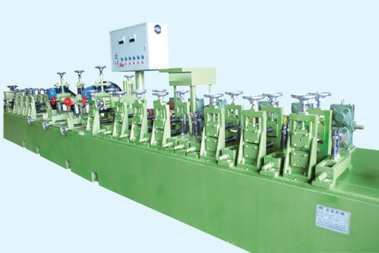 China Stainless Steel Round and Square Pipe Production Line with Factory Price