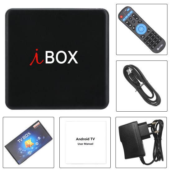 China Android 7 1 2 TV Box, I Box 2GB RAM/16GB with Amlogic S905W