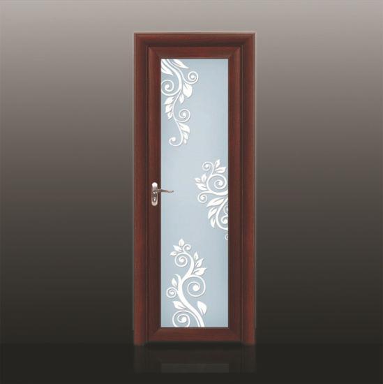 Home Architec Ideas Aluminum Modern Bathroom Door Design