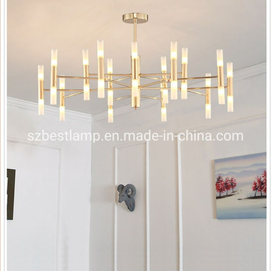Creative American Style Living Room Lamp Chandelier Pendant Light