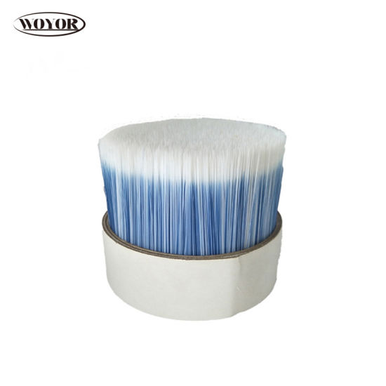 White Mixed Blue Color Tapered Filament Paint Brush pictures & photos