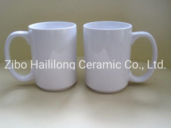 15oz Ceramic Sublimation Mug for Heat Transfer Printing