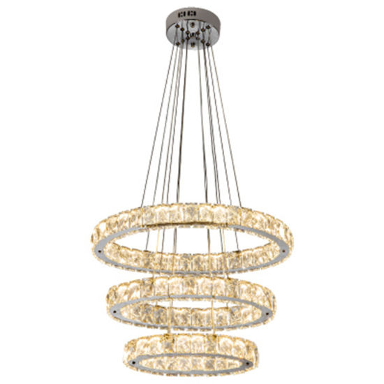 Modern K9 Crystal Chandelier for Luxury Indoor Decoration Lighting