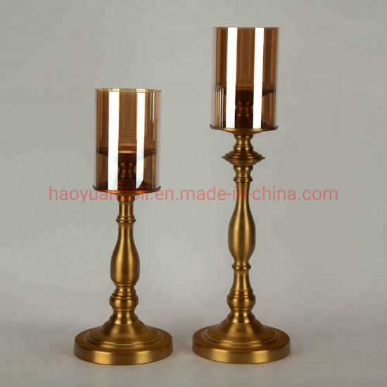 Polished Brass Candle Holder Parts Plastic Candlestick pictures & photos
