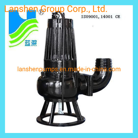 As16-2CB Single Leaf Impeller, Contra Block Device Submersible Sewage Pump