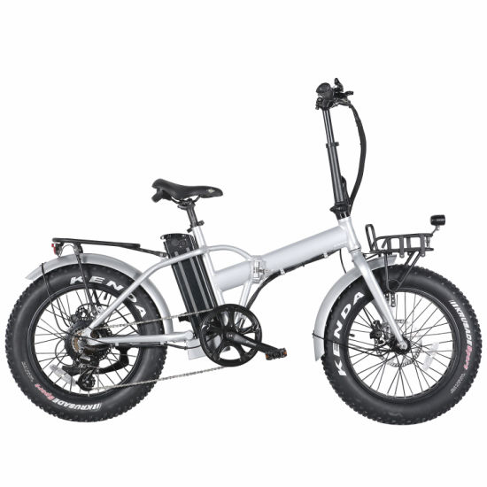 20 Inch High Quality Electric City Bicycle Fat Tire Folding E Bike