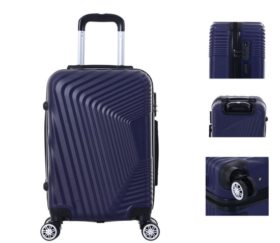"""2019 Travel ABS Hard Shell Luggage Colorful Cheaper Trolley Case 20""""24""""28"""" Suitcase-Xha152"""