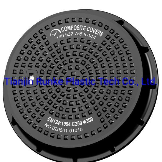 High Quality Round/Square Composite SMC Lockable Watertight Manhole Cover
