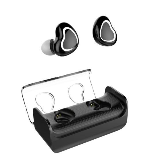 Tws Wireless Stereo Sports iPad Waterproof Bluetooth Earphone Headset in-Ear Headphones