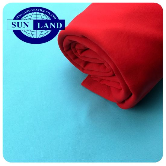 Autumn Sports Vest Coat Garment Cloth 100% Polyester Full Dull Brushed Pk Jersey Polar Fleece Fabric pictures & photos