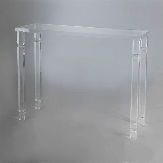 Clear Acrylic Living Room Home Furniture Office Coffee Table Desk
