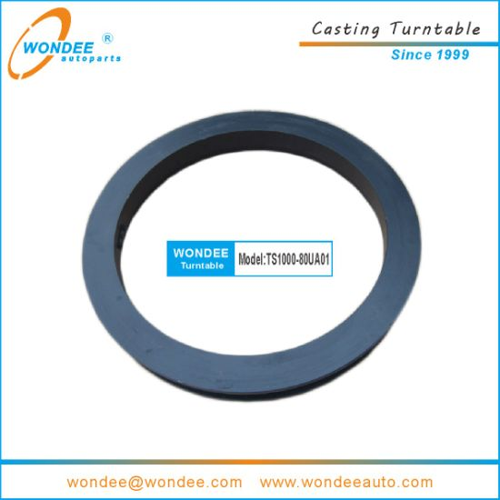 1100mm BPW Type Double Ball Bearing Casting Turntable for Semi Trailer