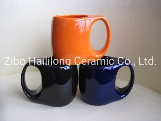 Ceramic Colored Hand Grouting Cup Mugs