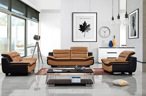 Contemporary Movable Furniture L Shape Sofa Two Seater Sofa pictures & photos