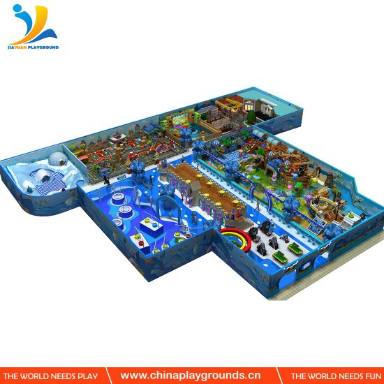 Ocean Theme Used Indoor Soft Playground From Best Suppiler