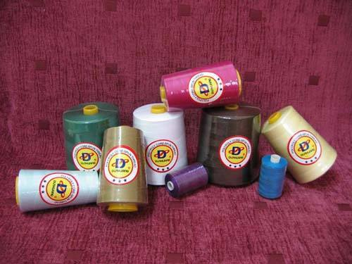 High Strength Wrapped Polyester Core Sewing Thread pictures & photos