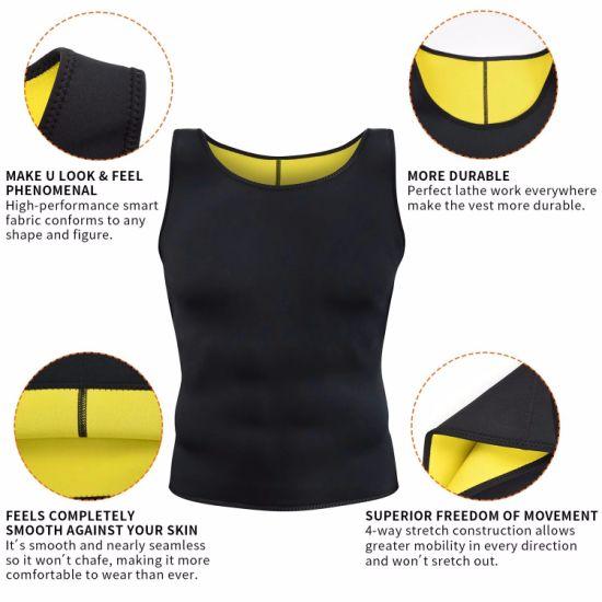 Hot Sweat Vest, Good Quality Amazon Mens Slimming Vest Zipper Neoprene Sweat Shaper