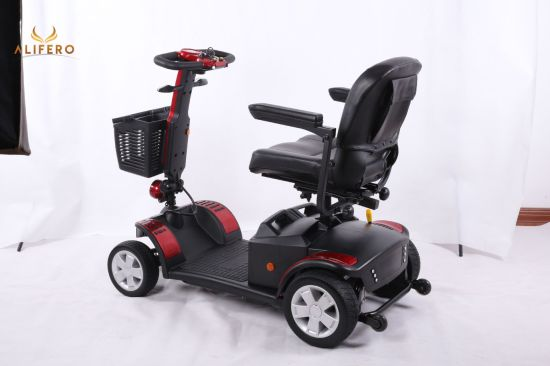 OEM Manufacturer Wholesale 4 Wheels Electric Mobility Scooter with Ce, FCC, RoHS, En12184 Approved