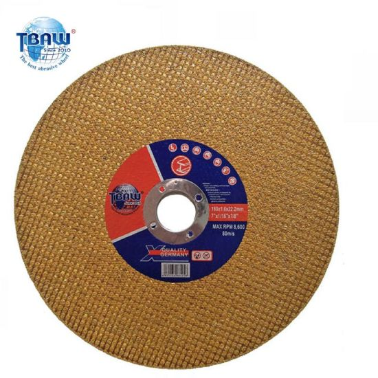Standard Abrasive Cutting Disc Cutting Wheel 180mm