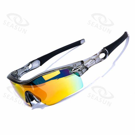 Custom Design Brand Logo Bike Cycling Riding Sunglasses