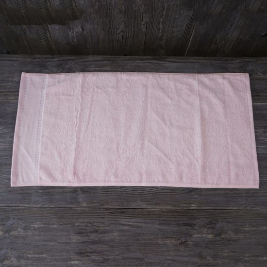 Promotion Gift Hand Towel Cotton 100% Home Light Pink