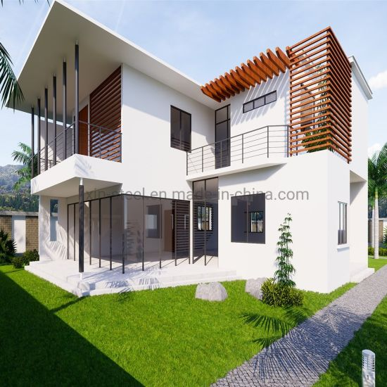 Popular Modern Steel Prefab House for Residential Vacation Prefabricated House