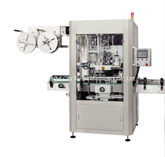 Automatic Bottle High Speed Shrink Sleeve Labeling Applicator Machine