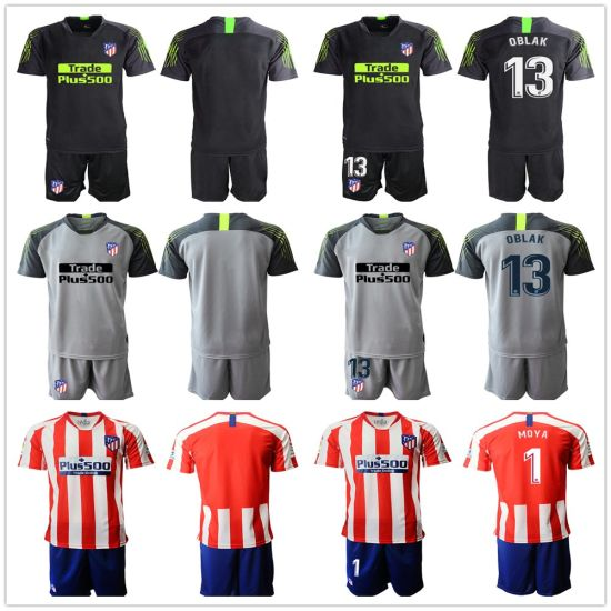 Thailand Atletico Madrid Soccer Jersey 2019 Goalkeeper Football Shirt Uniforms