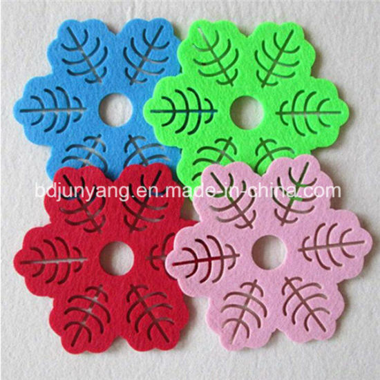 Factory Wholesale Customized Felt Coaster pictures & photos
