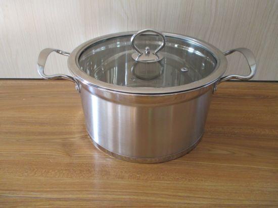 Capsuled Bottom Stainless Steel Stockpot /Soup Pot/Saucepot